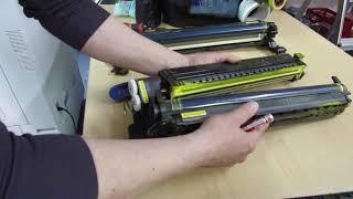 RICOH AF 2035 2045 3035 3045 transfer unit replacement DIY - Tomasz