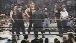October 21st 1996: Stings debut in black and white face-paint