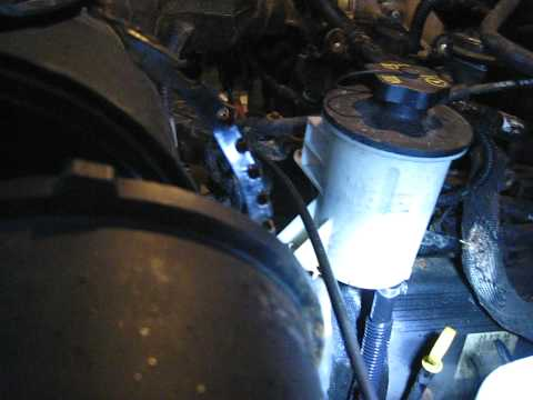Ford F150 Power steering line removal