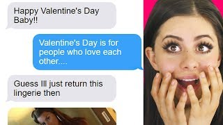 FUNNIEST BOYFRIEND - GIRLFRIEND TEXTS on valentines day!