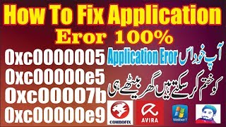 The application was unable to start correctly (0xc0000005