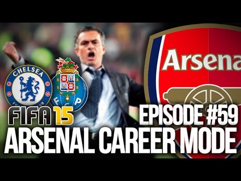 FIFA 15: ARSENAL CAREER MODE #59 - CHELSEA & FC PORTO!