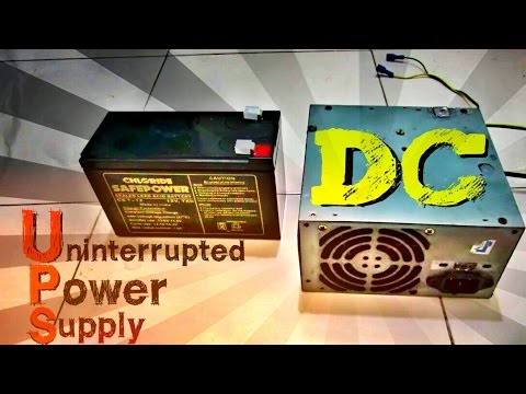UPS DC 12v-35v Battery Backup