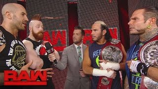 Cesaro & Sheamus welcome The Hardy Boyz to Team Red: Raw, April 17, 2017