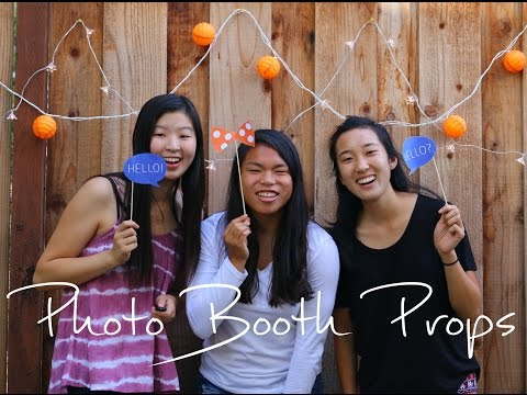 DIY | How to Make Photo Booth Props | rachel republic