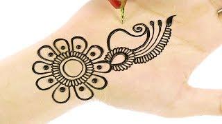 Easy Beautiful Arabic Henna Mehndi Designs | 3D Mehndi Designs For Hands #70 @ jaipurthepinkcity