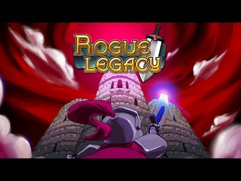 ROGUE LEGACY You have to DIE to WIN?!   Let's Play   PC   PS4   XBOX1