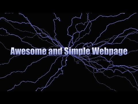 *****Create a Beautiful Webpage || Using HTML And CSS*****