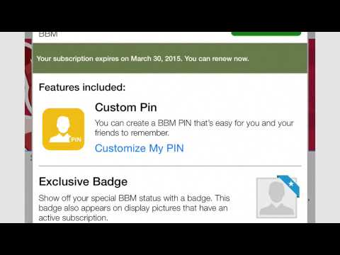 BBM — How to Create Your Custom PIN