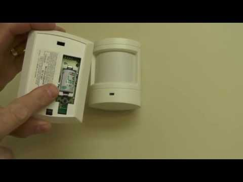 Motion Sensor Battery Change