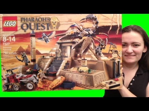 LEGO Scorpion Pyramid 7327 Pharaoh's Quest Review