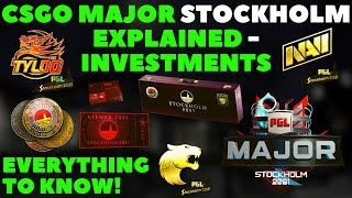 EVERYTHING To KNOW ABOUT CSGO MAJOR STOCKHOLM 2021   CSGO Investing