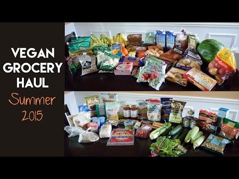 Vegan Grocery Haul: Summer 2015
