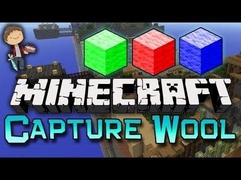 Minecraft: Capture the Wool Challenge Mini-Game!