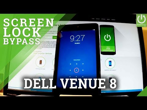 How to Hard Reset DELL Venue 8 - Remove Screen Lock / Delete Data