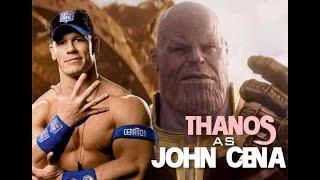 Thanos Enters As John Cena! - Avengers Infinity War (2017)
