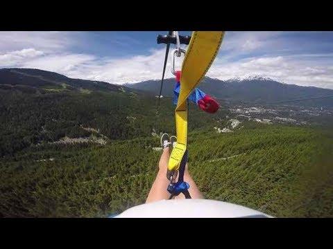 The Longest Zipline in the WORLD!!!!