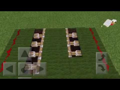 The easiest way to build hidden staircase in minecraft