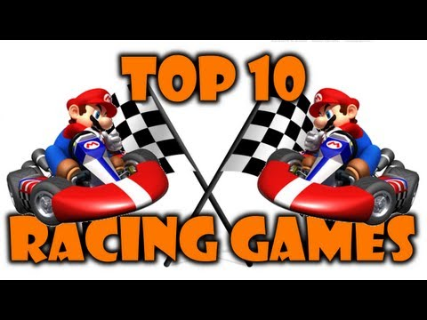 Friday Night Lag's Top 10 - Racing Games