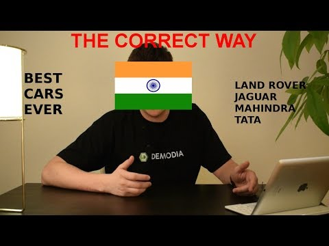 How To Pronounce Indian Car Names
