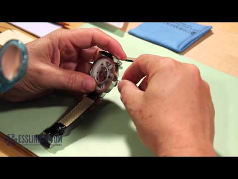 How to Remove & Replace a Watch Crown