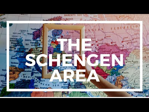 What is the Schengen Area and how does visa free travel work?