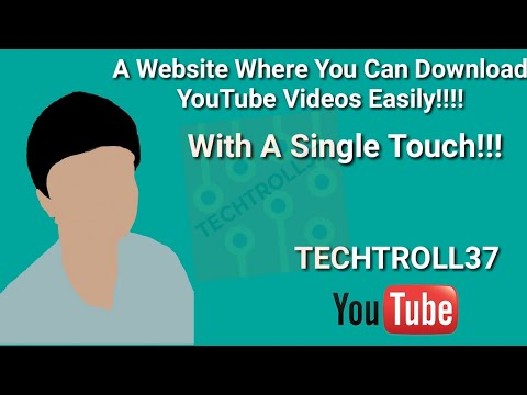 A SIMPLE WEBSITE BY WHICH YOU CAN DOWNLOAD YOUTUBE VIDEOS FOR FREE WITHOUT ANY ADS!!!!!
