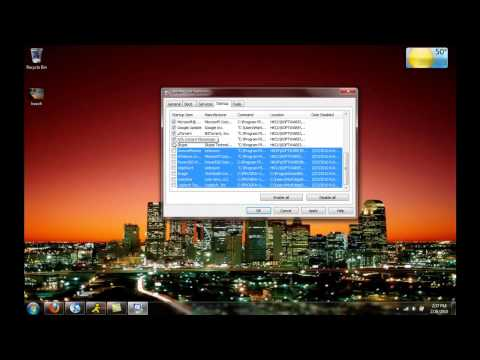 How to Remove Startup Programs in Windows 7