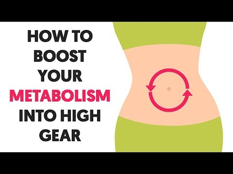 5 Ways to Boost Your Metabolism Into High Gear