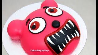 Gummy Bear Zombie Cake / How To by Cakes StepbyStep
