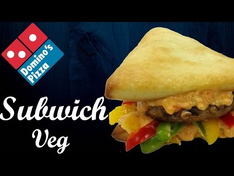 Now make SUBWICH like Domino's at home !! | Oven baked Sandwich | Simply yummylicious