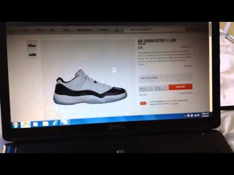 Retro 11 Low Concords Online Camping