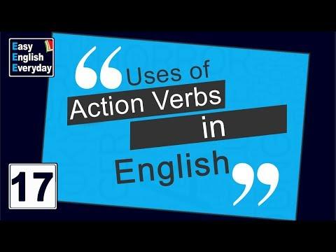 Spoken English Conversation videos |Action verbs in English |Spoken English Tutorial for Beginners