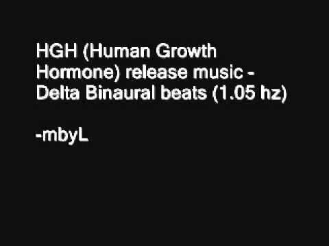 1 hour HGH (Human Growth Hormone) release music - Delta 1.05 hz Binaural beats + Isochronic beats