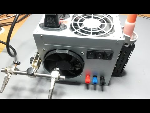 How To Make Mini Spot Welder Using old Microwave Transformer