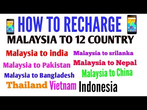 How to transfer money Malaysia to india in celcom