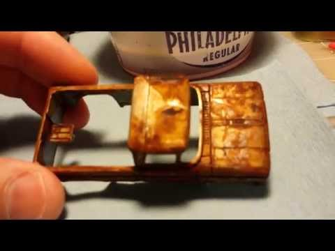 How to get that RUST / VINTAGE look on Hot Wheels