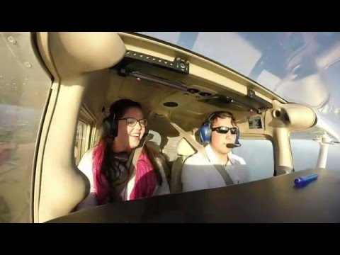 The freedom of having a private pilot's licence!