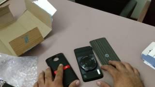 Moto Mods Unboxing .. Camera and Speakers .... Flipkart Sale