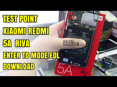 How To Test Point Flashing (mode edl download) Xiaomi Redmi 5A Riva 2018
