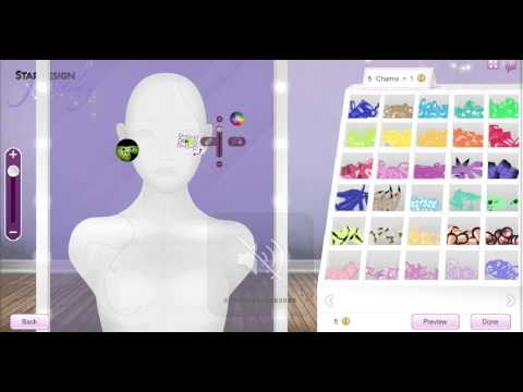 Stardoll - How To make Contact Lens