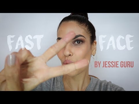Fast Face - My quick easy neutral makeup look