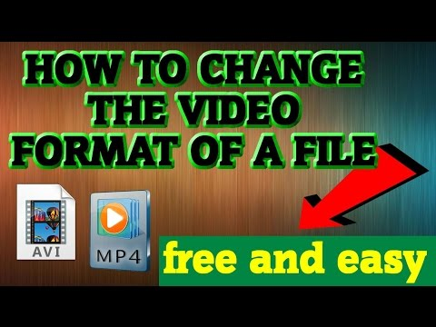 *EASY* How To Change ANY Video Format (For Free) - Best Technique!