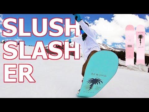 Spring Break Slush Slasher Snowboard Review