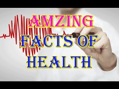 Amazing Facts Of Health In Hindi And Urdu|Health Facts IN Hindi And Urdu