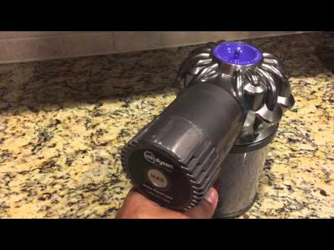 Dyson turn off after 10 seconds