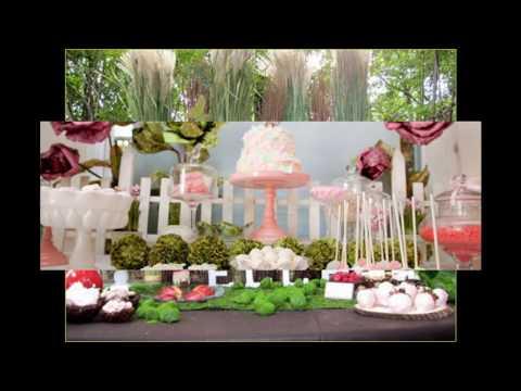 Fairy birthday party themed decorating ideas