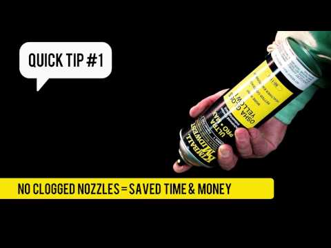 Kimball Midwest Quick Tip #1 - How to Clean Spray Paint Nozzles
