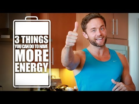 3 Ways to Get More Energy & Increase Mental Focus!
