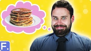 Irish People Taste Test American Breakfasts